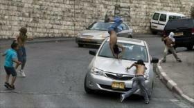 Colono israelí atropella a niña palestina de 6 años en Cisjordania