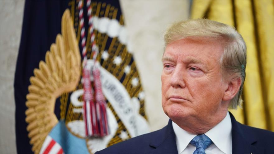 El presidente de EE.UU., Donald Trump, ofrece un discurso en la Casa Blanca, 22 de agosto de 2019. (Foto: AFP)