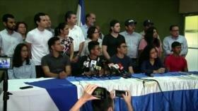 Oposición pretende crear nuevo partido político en Nicaragua