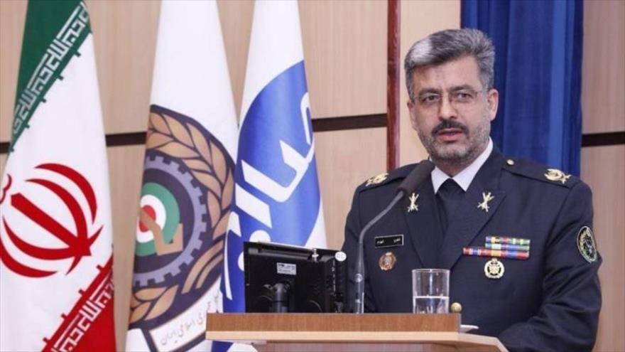 El general de brigada Shahroj Shahram, presidente de la Organización de Industrias Electrónicas del Ministerio iraní de Defensa.