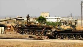 Ejército sirio recupera el campo norte de Hama