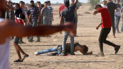 Represión israelí contra los palestinos deja 127 heridos en Gaza
