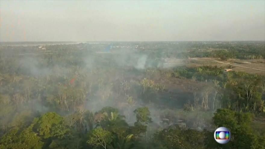Acuerdo nuclear. Guerra comercial EEUU-China. Incendios en Amazonas