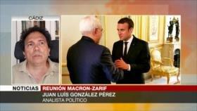 Pérez: Macron no puede salvar pacto nuclear con ideas de EEUU