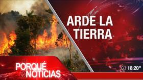 El Porqué de las Noticias: Acuerdo nuclear. Tensiones EEUU-Rusia. Fuego en la Amazonía