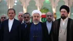 Rohani: Irán le hará decepcionar al enemigo con la unidad nacional