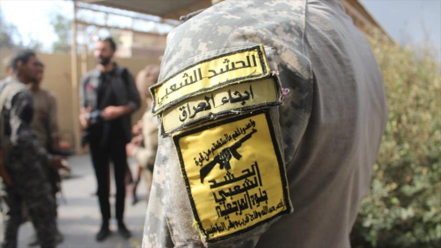 Integrantes de las Unidades de Movilización Popular (Al-Hashad Al-Shabi, en árabe) de Irak.