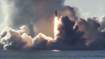 ¿Medida recíproca ante EEUU? Rusia prueba misiles balísticos