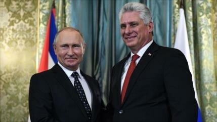Cuba agradece apoyo permanente de Rusia frente a bloqueo de EEUU