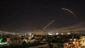 Defensa antiaérea siria repele un ataque israelí en Damasco