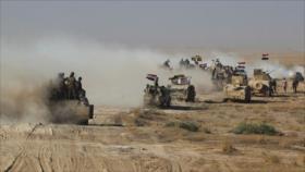 Fuerzas populares iraquíes limpian remanentes de Daesh en 6 aldeas