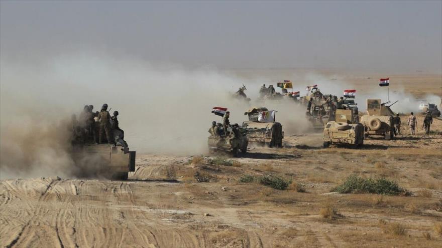 Fuerzas populares iraquíes limpian remanentes de Daesh en 6 aldeas | HISPANTV
