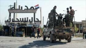Siria intensifica ataques contra posiciones terroristas en Idlib