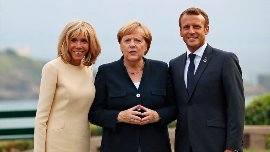 Inicia cumbre del G7 en Francia en medio de tensiones y protestas
