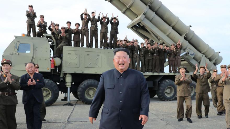 Kim: El mundo será testigo en breve de nuestra arma estratégica | HISPANTV
