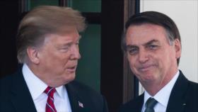 La Amazonía arde en llamas y Trump ofrece apoyo verbal a Bolsonaro