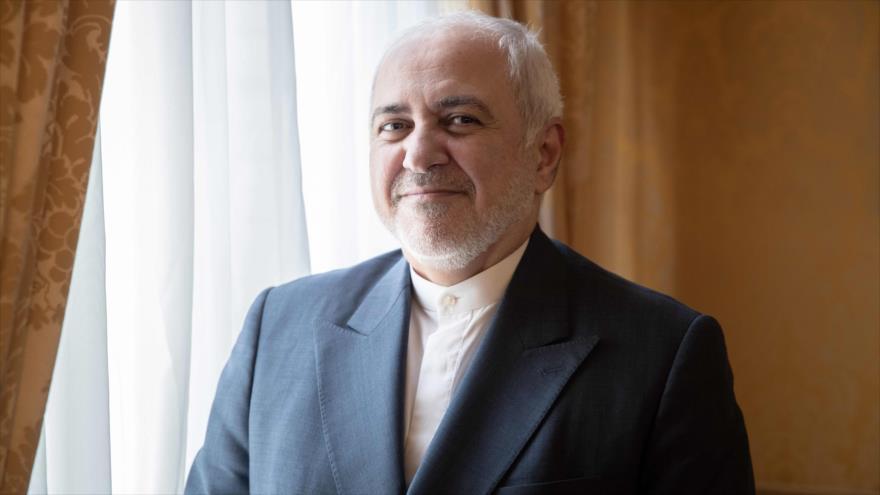 El canciller iraní, Mohamad Yavad Zarif, en la embajada de Irán en París, 23 de agosto de 2019. (Foto: AFP)