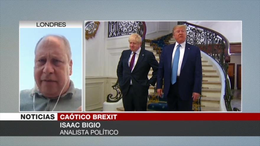 Bigio: Es posible que elecciones frustren acuerdo Trump-Johnson