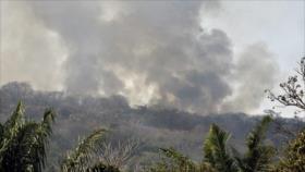 Morales suspende campaña electoral y acepta ayuda para el incendio