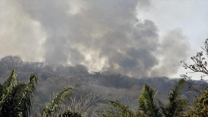 Los incendios en la Chiquitanía, en Santa Cruz. (Foto: AFP)