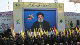 Nasralá: A partir de ahora, Hezbolá derribará drones israelíes