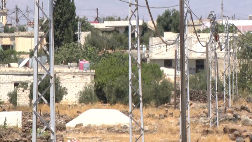 Autoridades sirias restauran la red eléctrica en el sur del país