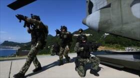 Corea del Sur lanza maniobras cerca de islas reclamadas por Japón