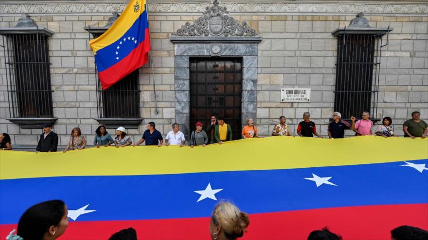 Rechazan en Caracas el bloqueo de EEUU contra Venezuela