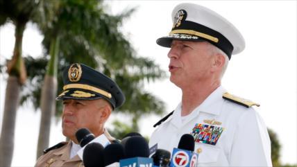 """Armada de EEUU, lista para """"lo que hay que hacer"""" en Venezuela"""