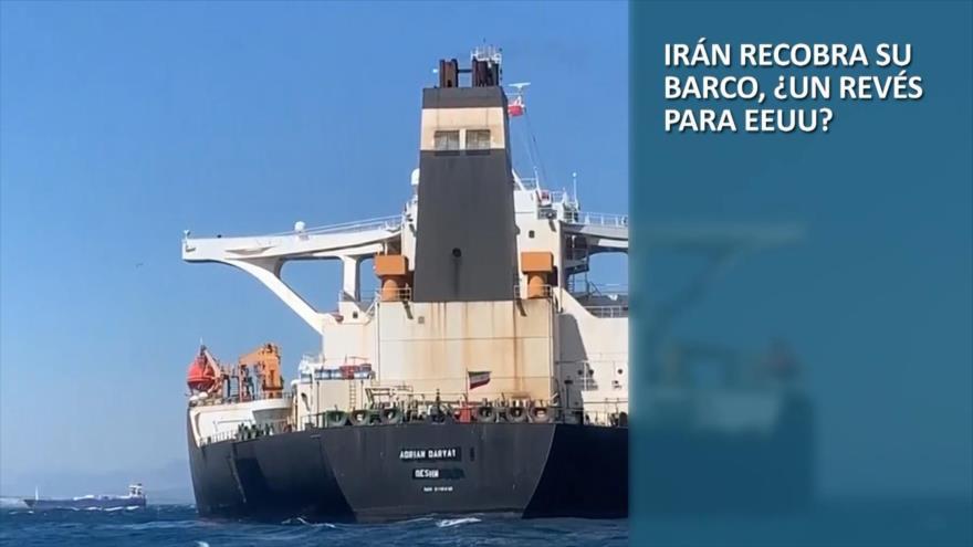PoliMedios: Irán recobra su barco, ¿Un revés para EEUU?