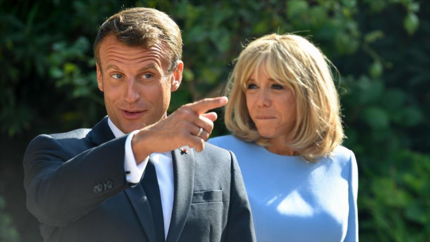 Bolsonaro Tensa Lazos Con Francia Al Mofarse De La Esposa De Macron Hispantv