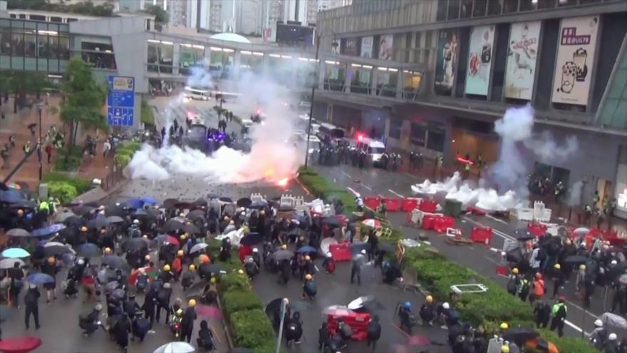La violencia llevará a Hong Kong a una situación peligrosa | HISPANTV