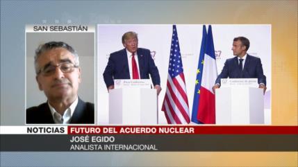 Egido: Francia ha entendido que se debilita al servir a EEUU