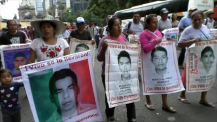 A casi 5 años, sin novedades de los 43 desaparecidos de Ayotzinapa