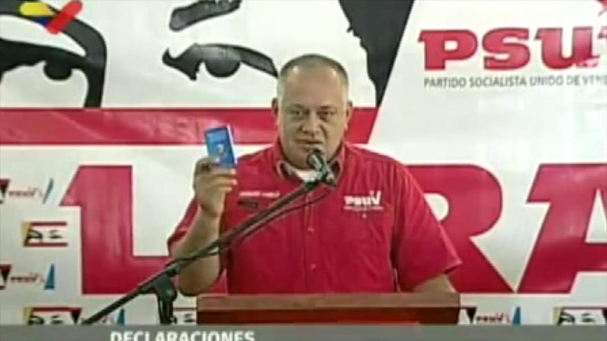 Cabello: habrá elecciones antes del 31 de diciembre de 2020