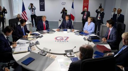 China insta a los G7 a no injerirse en los asuntos de Hong Kong