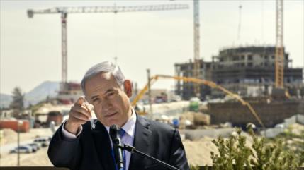 Netanyahu avala construcción de 300 casas ilegales en Cisjordania