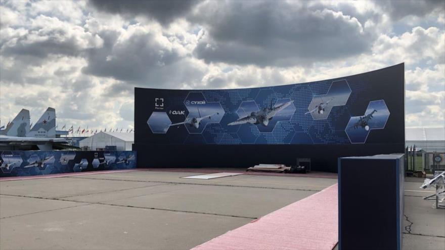 Vídeo: Irán presenta un nuevo dron en feria aeroespacial MAKS 2019