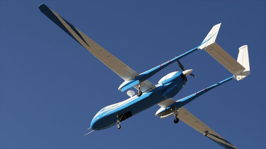 Un avión no tripulado israelí.