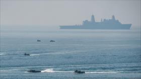 China impide entrada de un navío de EEUU en sus aguas nacionales