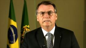 Bolsonaro acepta ayuda de G7 para combatir incendios de Amazonas