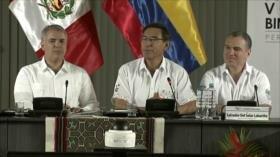Perú y Colombia suscriben varios acuerdos para desarrollo conjunto