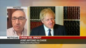 Alcaide: Suspensión del Parlamento británico puede causar desastre
