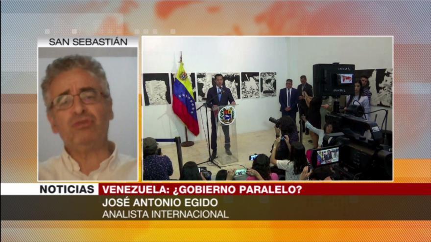 Egido: Guaidó busca proclamar gobierno para justificarse ante EEUU