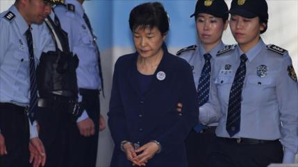 Corte surcoreana ordena juzgar de nuevo a la expresidenta Park