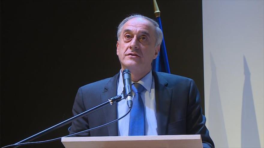 El viceministro de Exteriores de Siria,Ayman Sousan.
