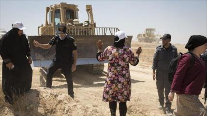 Por 157.ª vez, Israel destruye la aldea palestina de Al-Araqib