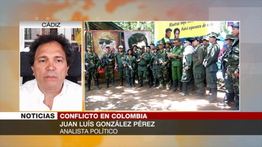 González Pérez: Acuerdo de paz en Colombia solo existió en papel