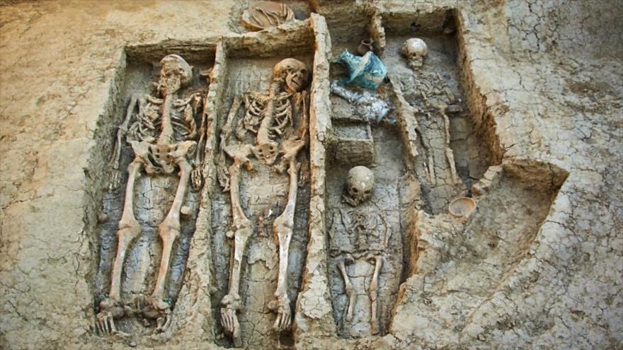 Vídeo: Hallan en Rusia tumbas de un guerrero del siglo V