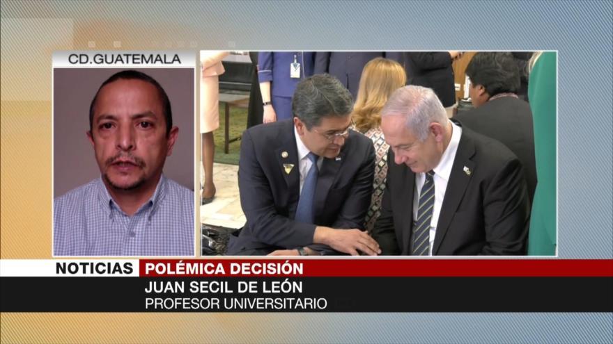 Secil de León: Presidente hondureño es un instrumento de EEUU